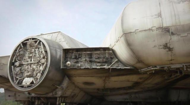Star Wars: Episode VII – Millennium Falcon é apresentada - Mundo Nerd Info